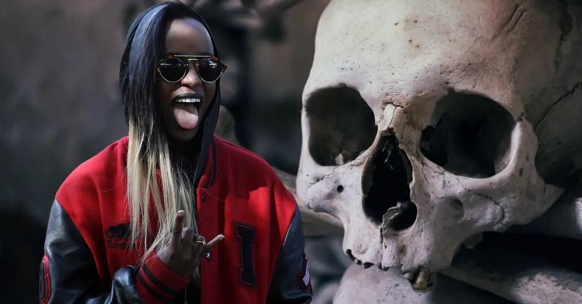 Azealia Banks Skull