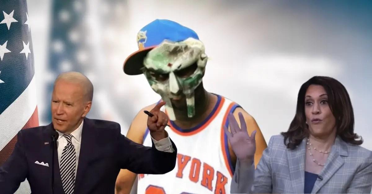 Biden, Harris and MF Doom