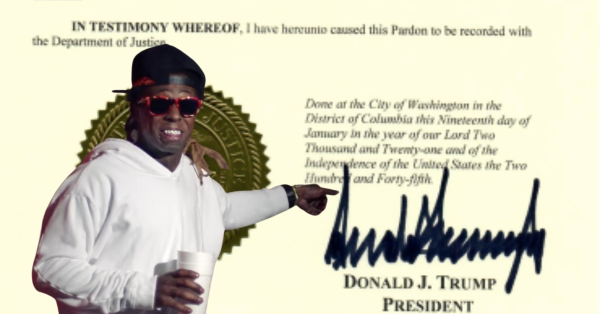 Lil Wayne Pardon