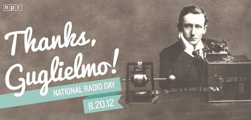 Happy National Radio Day Images