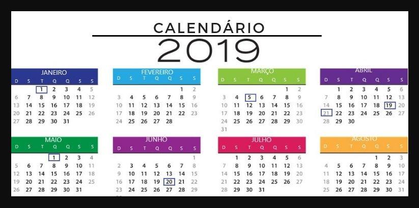 Brazil public Holiday Calendar