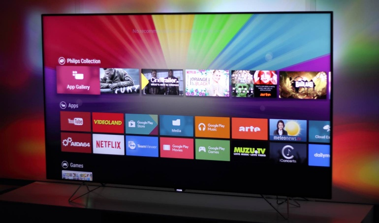 Philips 65PUS8901 review android TV