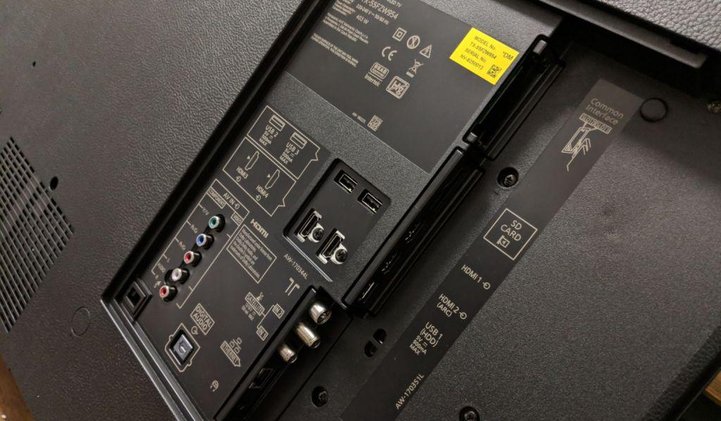 Panasonic-TX-55FZ950-connections