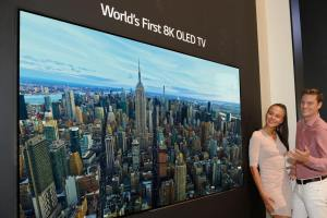 8K OLED television