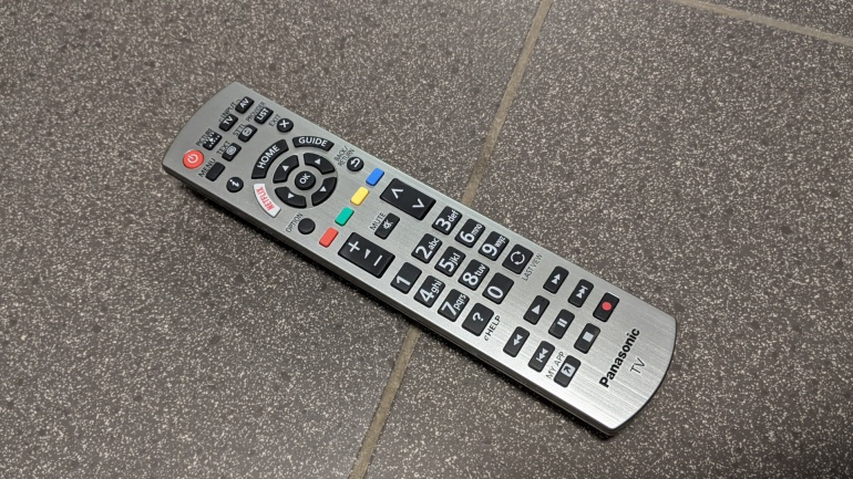 Panasonic TX-55HZW984 Remote control