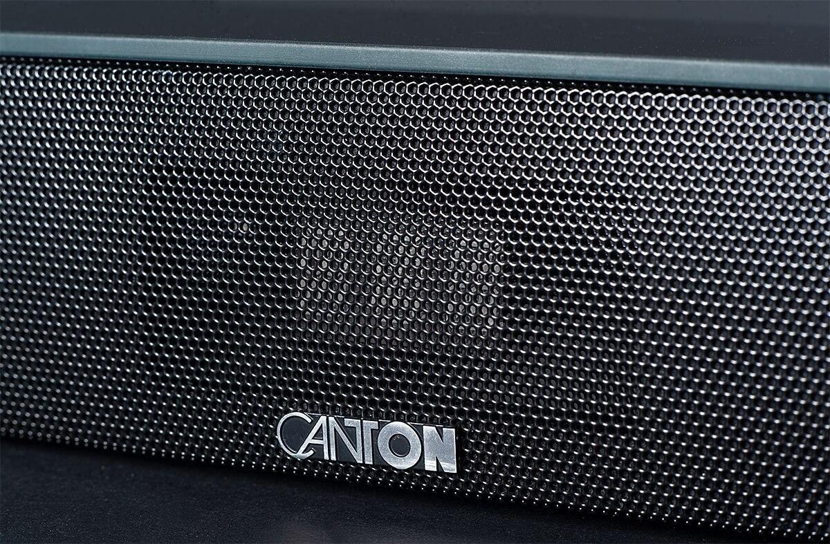 Canton Smart Soundbar 10 - Frontabdeckung mit Logo