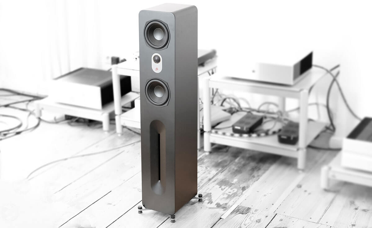 AperionAudio Novus T5 Tower - im Hörraum