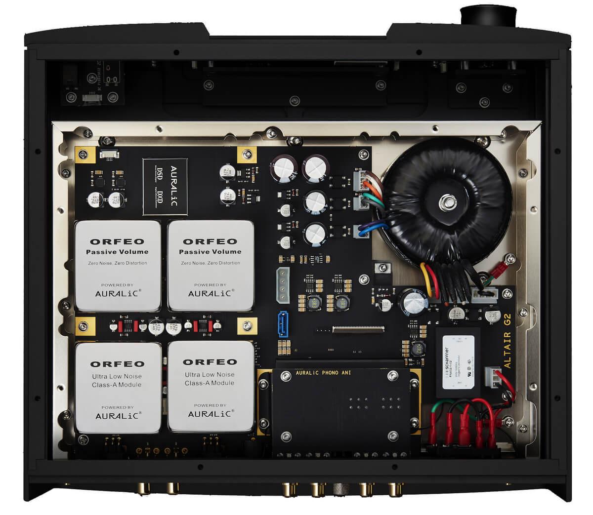 Auralic Altair G2.1 Digital Audio Streamer inner workings