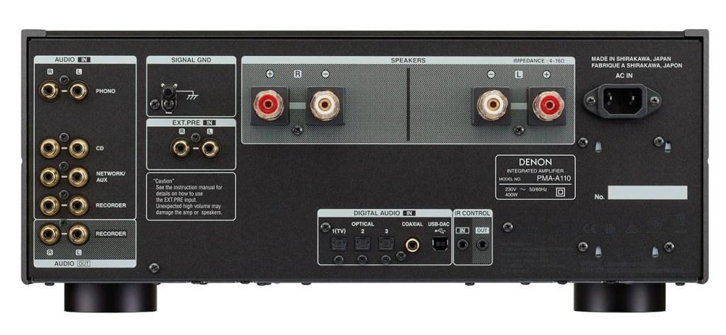 DENON PMA-A110 AND DCD-A110