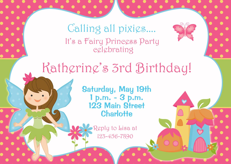 3rd Birthday Invitation Wording Ideas