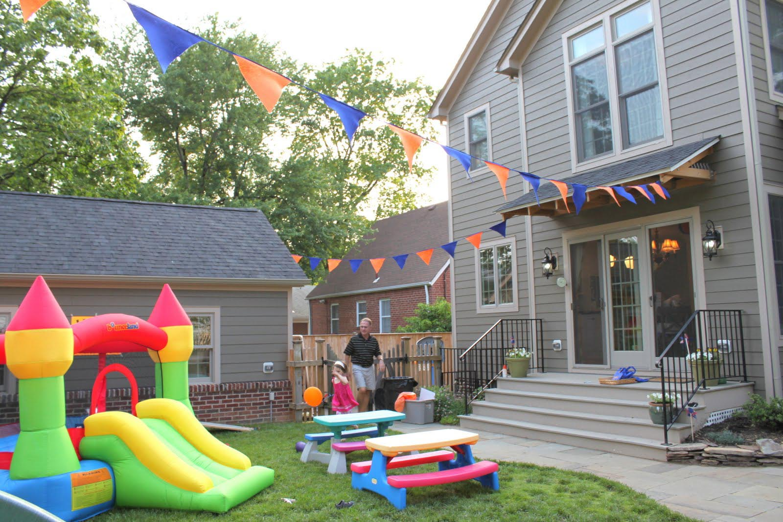 Outdoor Birthday Party Ideas For Toddlers