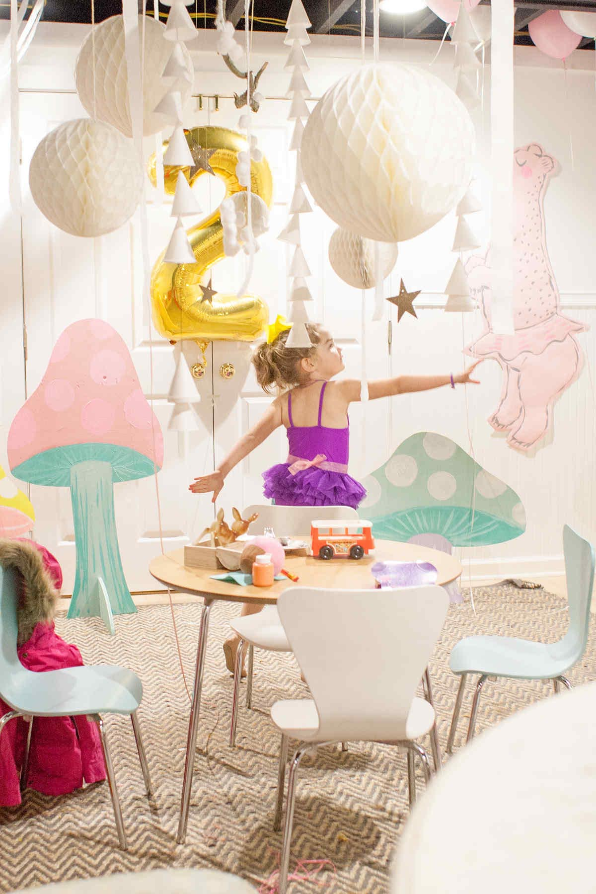 Toddler Dance Birthday Party
