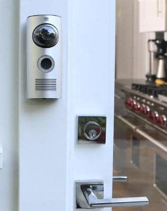 The Skybell Vs Doorbot Smart Doorbell Comparison & Installation Doorbot u0026 Doorbot The Iphone Smart Doorbell pezcame.com