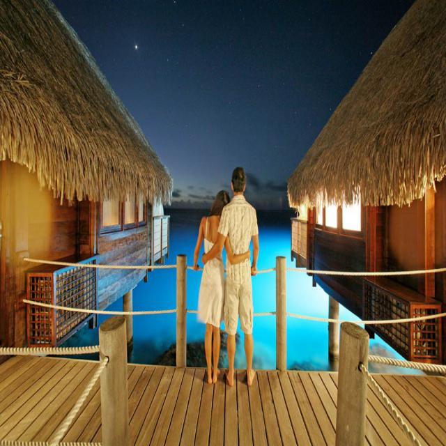 Best Honeymoon Destinations Ideas For Honeymoon Holidays: French Polynesia Best All Inclusive Honeymoon Destinations