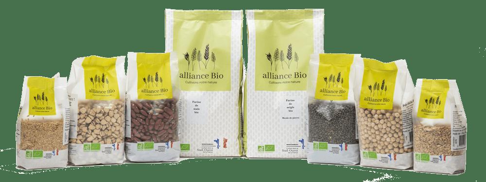 Graines, céréales et farines bio