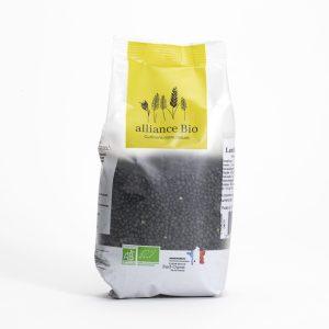 Acheter lentille caviar lentille beluga noire bio