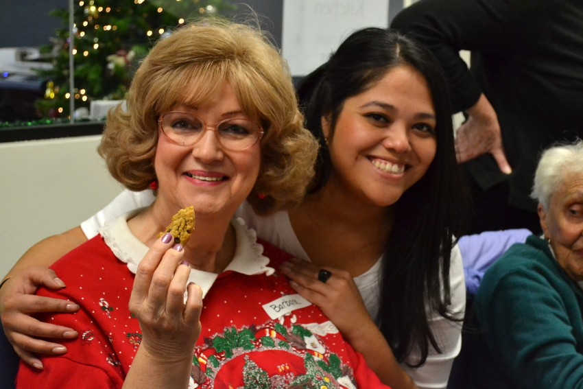 Barbara and Monica-Holiday Open House