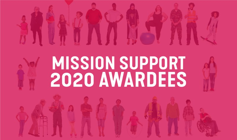 mission support 2020 awardees featured image