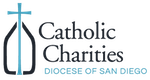 logo for catholic charities