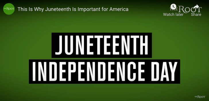 text-juneteeth independence day