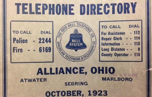 Alliance phone book