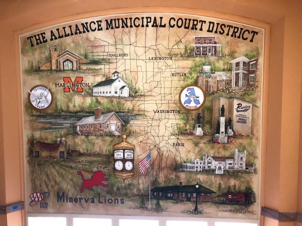 Alliance Municipal Court District Mural