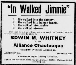 The Alliance Review, Augusut 15, 1921