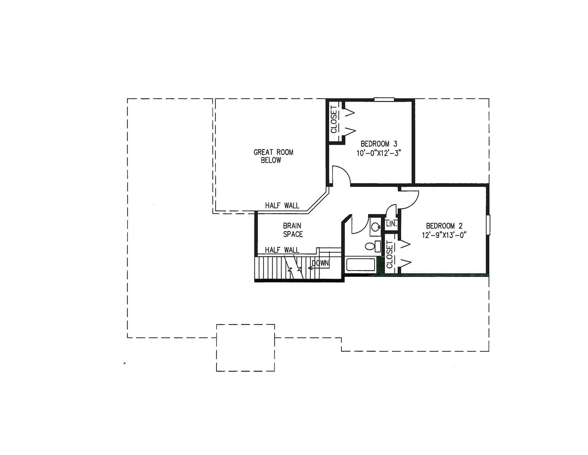 hight resolution of halstad with sunroom option 2nd floor