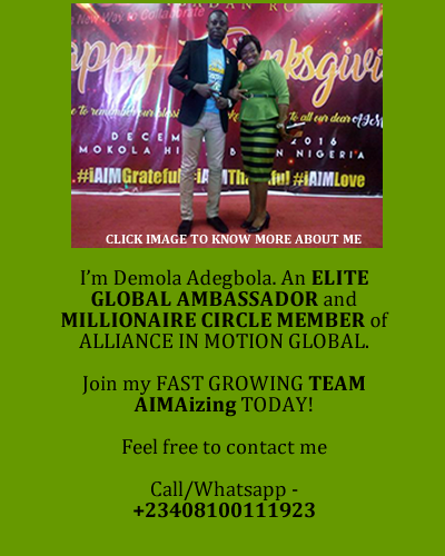 WELCOME TO AIM GLOBAL