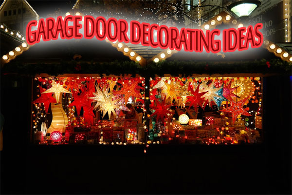 Garage Door Decorating Austin