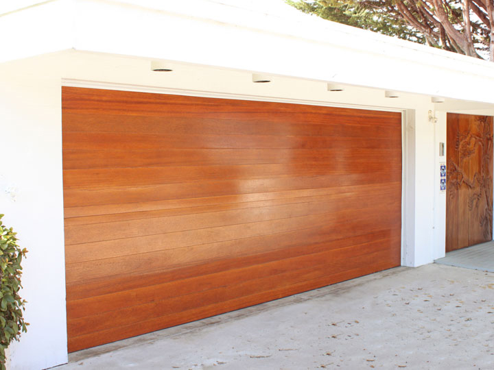 Custom Wooden Garage Door Austin