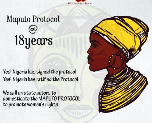 maputo protocol @18 the journey continues