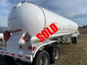 LPG transport trailer for sale