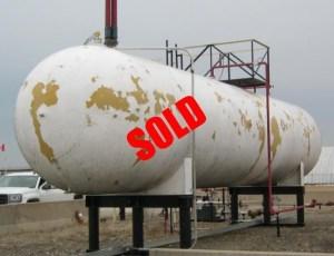 Bulk propane tank for sale