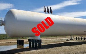 30,000 gallon propane tank sold