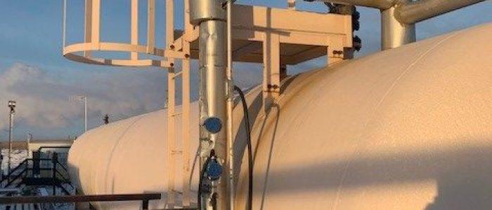Used 30,000 gallon LPG tank
