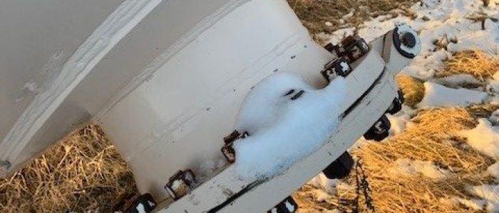 Used 30,000 gallon propane vessel