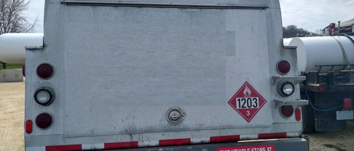 Used International 2900 refined fuel truck for sale