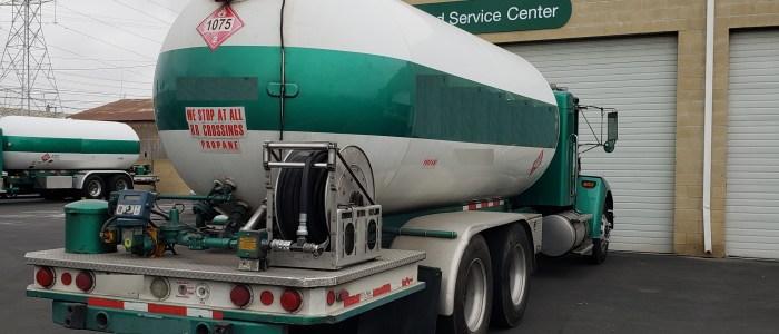 Used 5000 gallon propane delivery truck