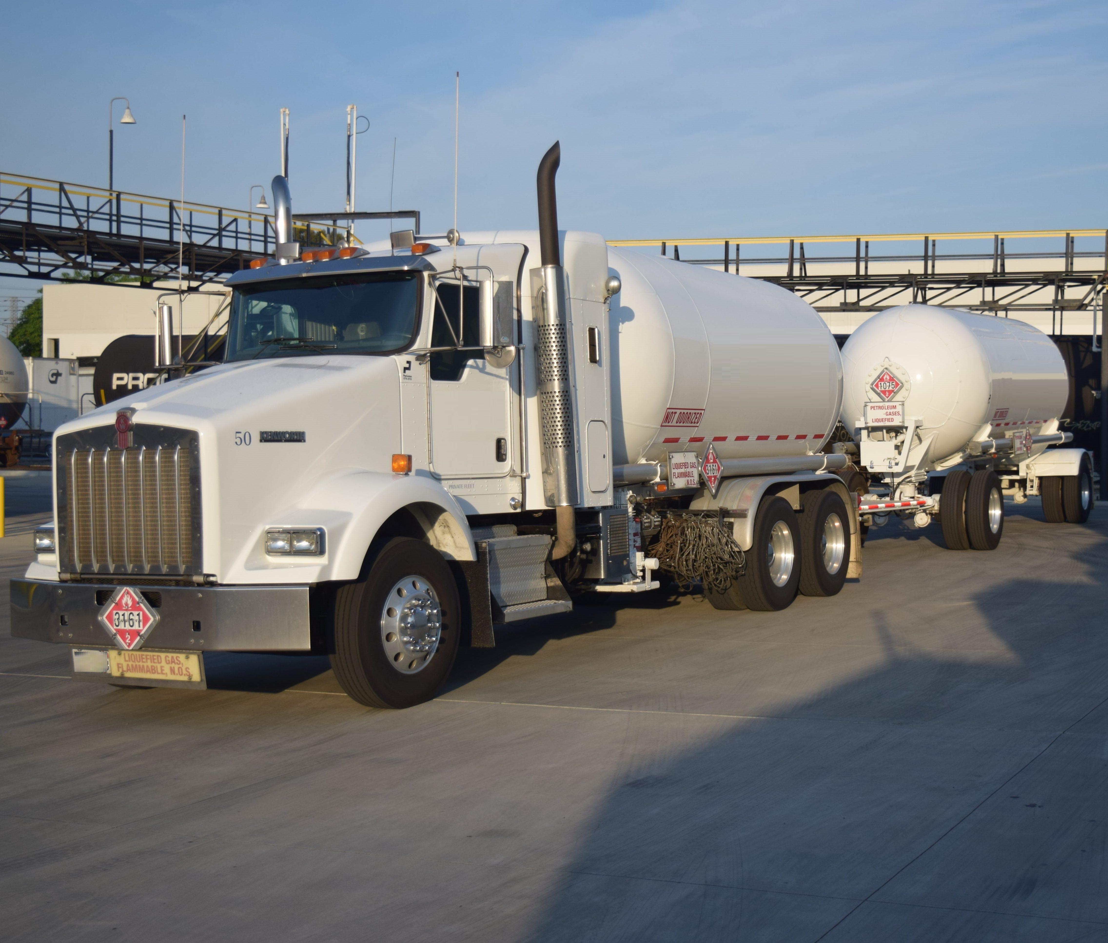 Used Kenworth propane transport