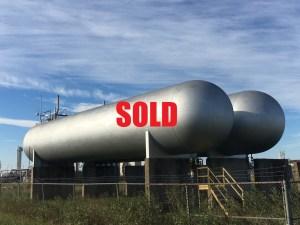 70,000 gallon bulk propane storage tank sold