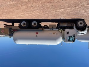 Used Freightliner M2 5000 gallon delivery truck