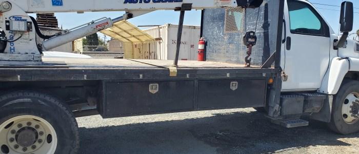Used propane crane truck