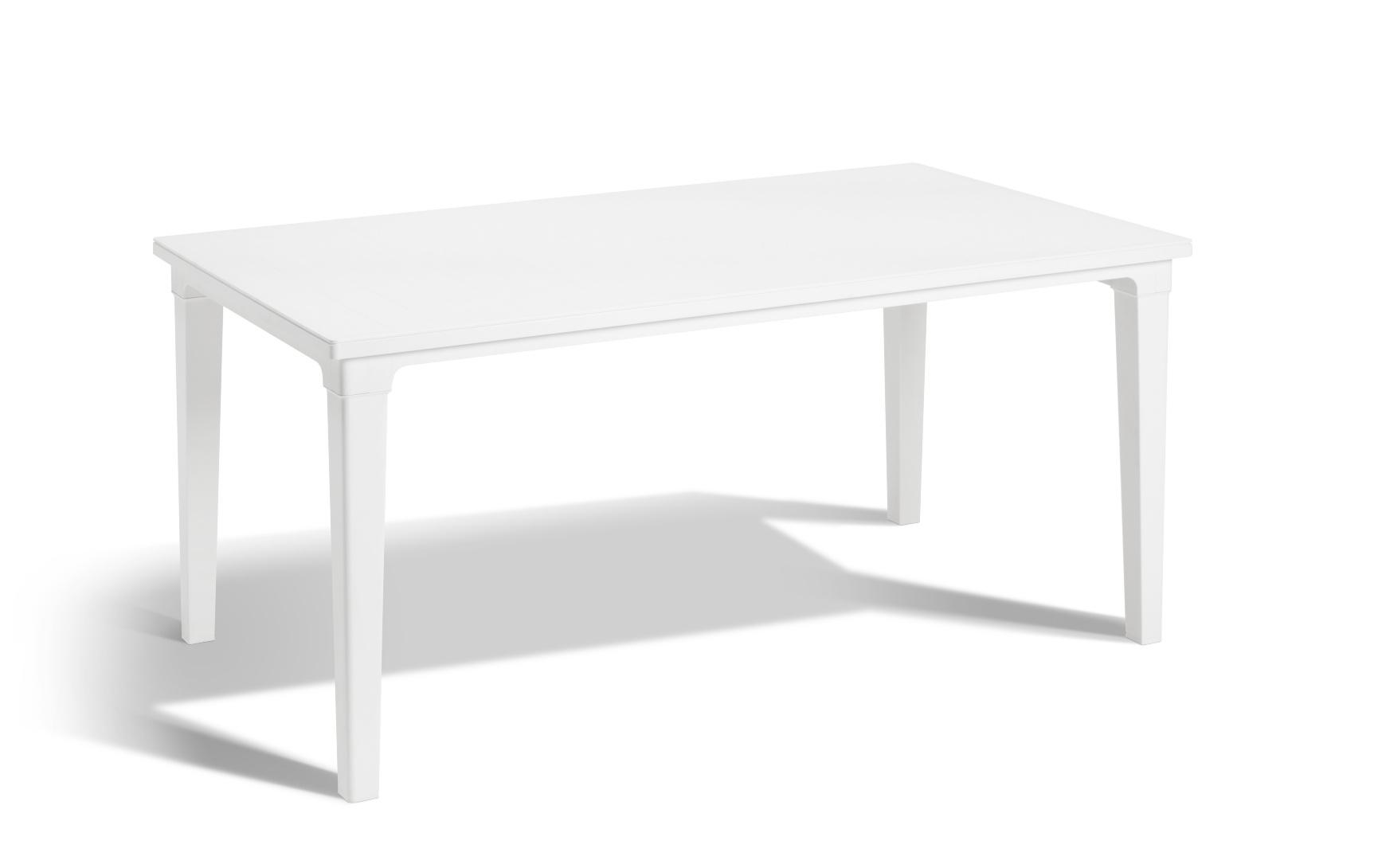 Grande Table De Jardin Plastique Blanc | 1 Table De Camping Jardin ...