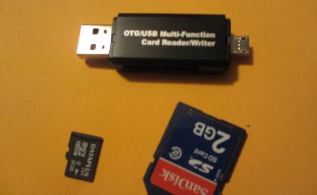 Otg Usb Multi Function Card Reader Writer Alli Buys H I