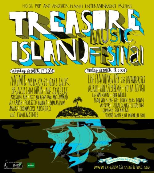Treasure Island Music Festival 2009