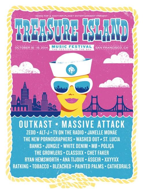 Treasure Island Music Festival 2014