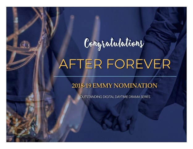 'After Forever' Nominated for 8 Daytime Emmy Awards