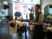 Grand Barbershop treatment a la Brendan