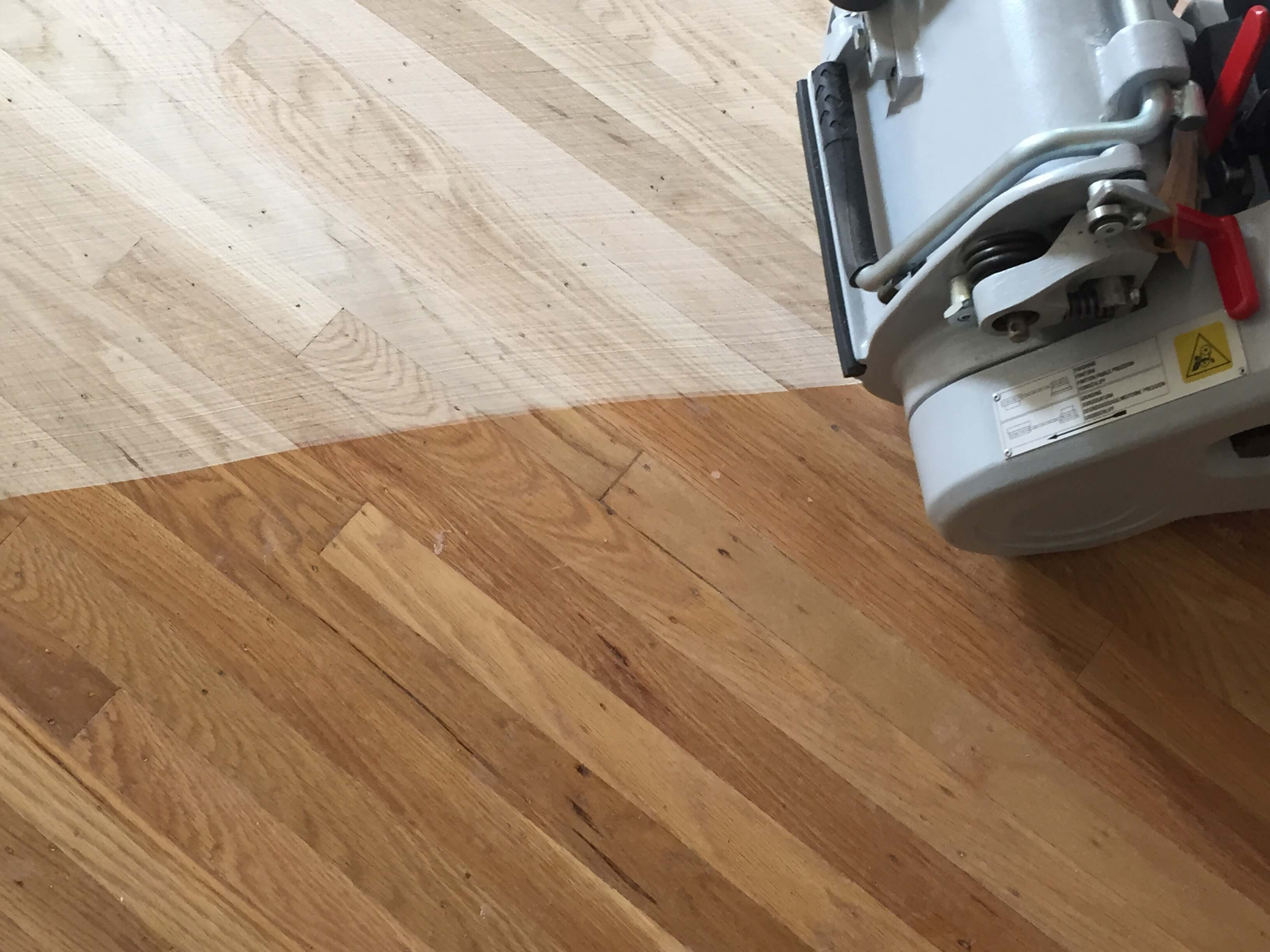 Oak hardwood floors